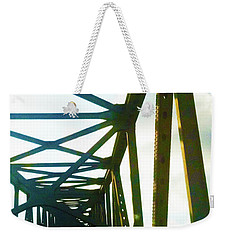 Weekender Tote Bag featuring the photograph Indefinite Sight by Jamie Lynn
