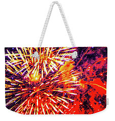 Weekender Tote Bag featuring the photograph It's 2019 Seize The Year  by D Davila