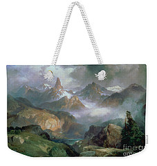 Index Peak Weekender Tote Bag by Thomas Moran