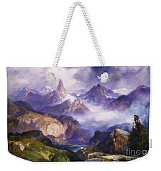 Index Peak Yellowstone National Park Weekender Tote Bag