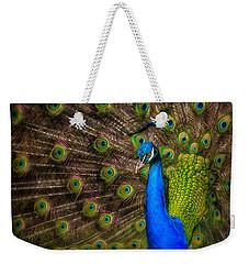 India Blue Weekender Tote Bag