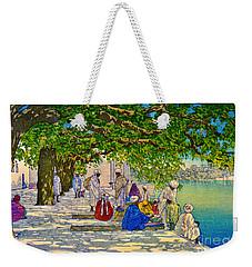 India Silk Merchants 1920 Weekender Tote Bag by Padre Art
