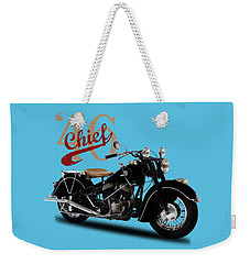 Indian Chief 1946 Weekender Tote Bag