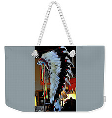 Indian Chief Headdress Weekender Tote Bag