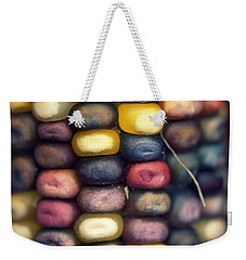 Indian Corn Weekender Tote Bag by Joseph Skompski