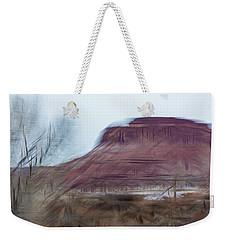 Indian Creek Winter Weekender Tote Bag