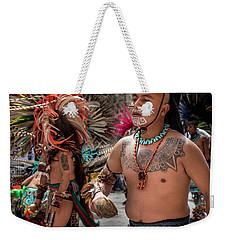 Indian Dancers Weekender Tote Bag