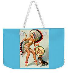 Indian Girl - Birthday Celebration Weekender Tote Bag