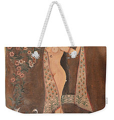 Indian Lady After Swim Weekender Tote Bag
