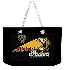 Indian Motorcycle Logo Series 2 Weekender Tote Bag