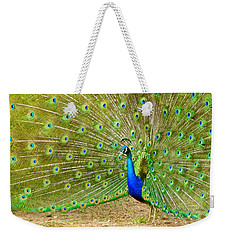Indian Peacock Weekender Tote Bag