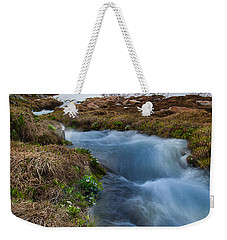 Weekender Tote Bag featuring the photograph Indian Peaks Wilderness by Steven Reed
