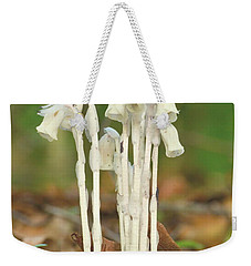 Indian Pipes Weekender Tote Bag