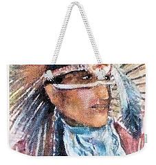 Indian Portrait Weekender Tote Bag
