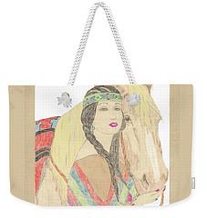 Indian Princess At Fair Weekender Tote Bag