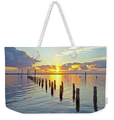 Indian River Sunrise Weekender Tote Bag