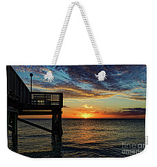 Indian Rocks Sunset Two Weekender Tote Bag
