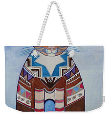 Indian Squirrel Cat Weekender Tote Bag