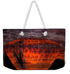 Weekender Tote Bag featuring the photograph Indian Summer Sunrise by Joyce Dickens
