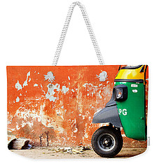 Indian Tuk Tuk Weekender Tote Bag