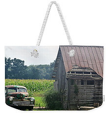Indiana Back Road Common Denominator Weekender Tote Bag by John Glass