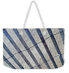 Indiana Dunes Beach Fence Weekender Tote Bag
