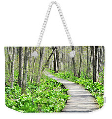Indiana Dunes Great Green Marsh Boardwalk Weekender Tote Bag
