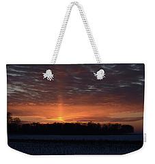Indiana Evening Weekender Tote Bag