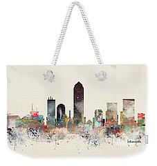 Indianapolis City Skyline Weekender Tote Bag