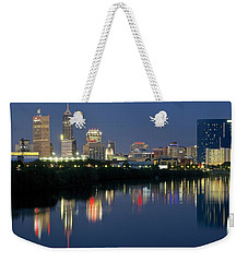 Indianapolis Night Weekender Tote Bag