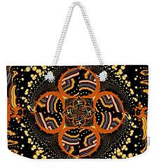 Indigenous Galaxy Weekender Tote Bag