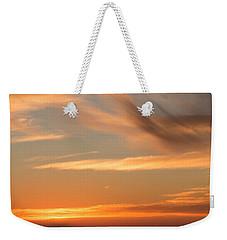 Indigo And Gold Weekender Tote Bag