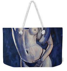 Indigo Girl Weekender Tote Bag