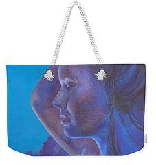 Indigo Serene Weekender Tote Bag