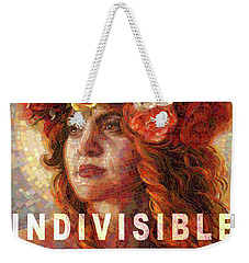 Indivisible Weekender Tote Bag by Mia Tavonatti