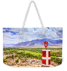 Weekender Tote Bag featuring the photograph Indus Valley by Alexey Stiop
