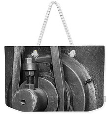 Industrial Detail Weekender Tote Bag by Carlos Caetano
