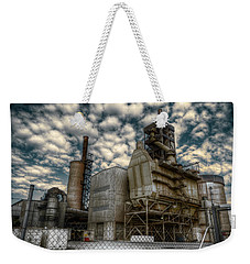 Industrial Disease Weekender Tote Bag by Wayne Sherriff