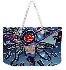 Industrial Flower Weekender Tote Bag