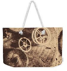 Industrial Gears Weekender Tote Bag