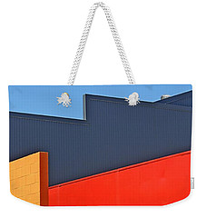 Industrial Geometry 2 Weekender Tote Bag