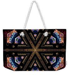 Industrial Grunge 2 Weekender Tote Bag by Lori Kingston