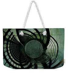 Industrial Overpass Grey Weekender Tote Bag