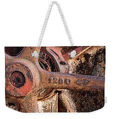 Industrial Patina Weekender Tote Bag