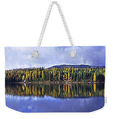 Inez Lake Montana Weekender Tote Bag