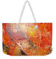 Inferno Weekender Tote Bag by Jacqueline Athmann