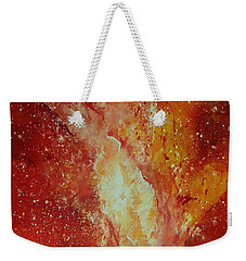 Inferno Weekender Tote Bag by Tamyra Crossley