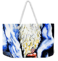 Inferno Weekender Tote Bag by Victor Minca