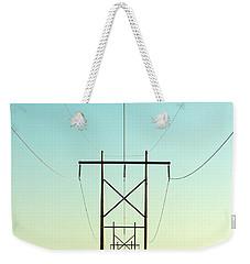 Infinite Conductivity Weekender Tote Bag
