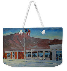 Weekender Tote Bag featuring the painting Infinite Horizons by Len Stomski